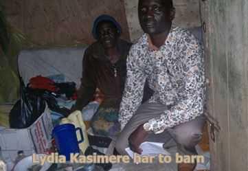 Lydia Kasimere har 2 barn